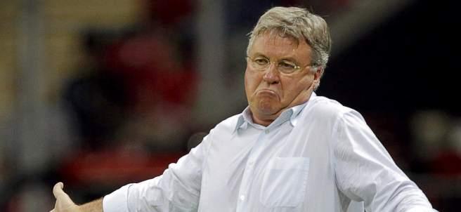 El entrenador holandés Guus Hiddink.