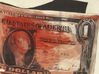 Andy Warhol, One Dollar, 1961