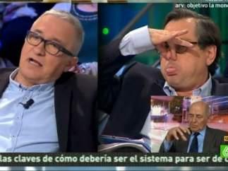Javier Sardá y Francisco Marhuenda