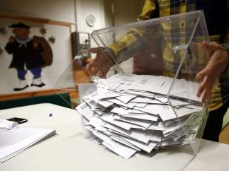 Recuento de las elecciones generales