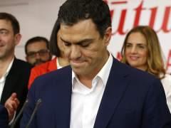 Pedro Sánchez comparece desde Ferraz