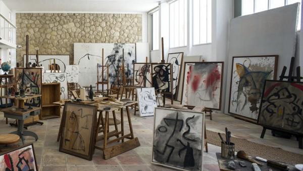 Son Abrines studio, Photo Jean Marie del Moral