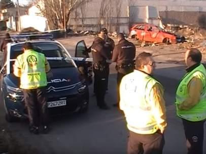 Policías La Cañada Real (Madrid)
