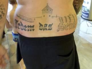 Tatuaje simbología nazi