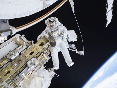 Paseo espacial en la EEI