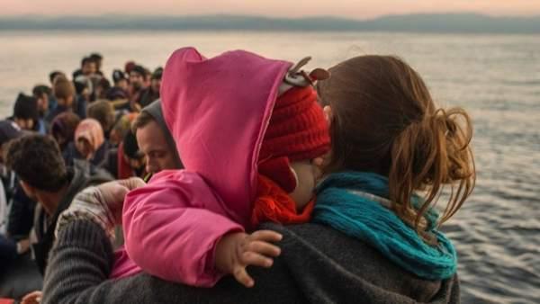 El drama de los niños refugiados