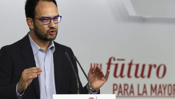 Antonio Hernando, del PSOE