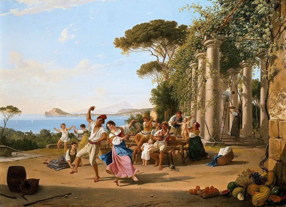 Franz ludwig catel el pintor berlin s que busc la luz de - Busco trabajo de pintor en madrid ...