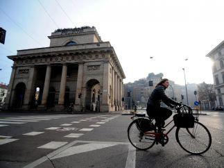 Milán prohíbe el tráfico rodado