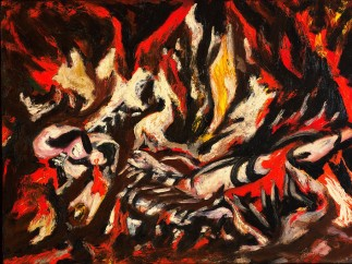 Jackson Pollock, American, 1912–1956, The Flame