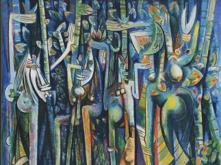 Wilfredo Lam, La Jungla, 1943