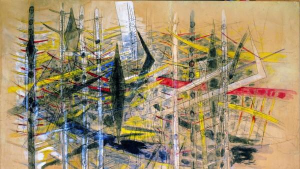 Wilfredo Lam - Untitled, 1958 [La Brousse]
