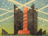 Max Gerntke, Metropolis of the Future, around  1925