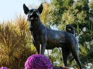 La perra del rey de Tailandia
