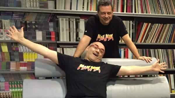 Mike Platinas y Toni Peret