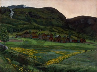 Nikolai Astrup, A Clear Night in June, 1905-1907