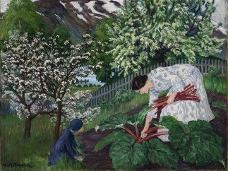 Nikolai Astrup, Rhubarb, 1911