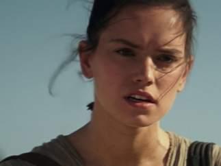 Daisy Ridley en 'Star Wars'