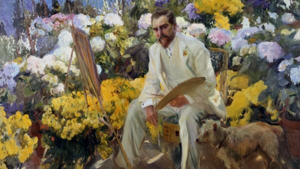 Joaquin Sorolla, Louis Comfort Tiffany, 1911