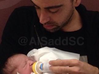 Xavi y su hija