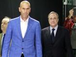 Zidane, nuevo entrenador del Madrid