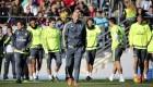 Primer entrenamiento de Zidane en el Real Madrid