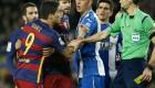 El Barcelona gana un derbi muy duro