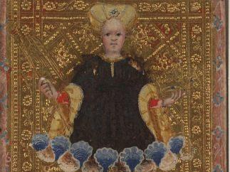World from The Visconti Tarot, ca. 1450