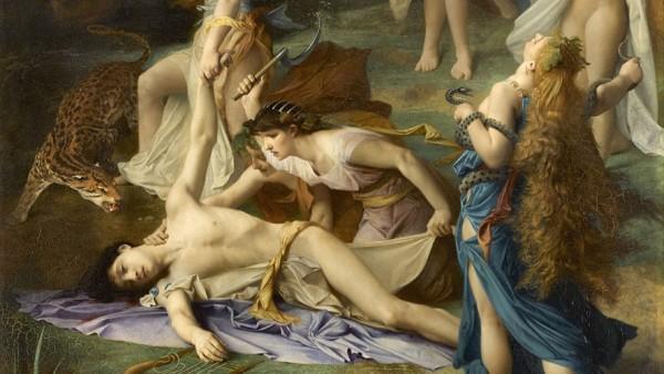 Emile Levy - Mort d'Orphée, 1866