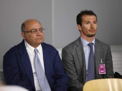 Ferrán, en el juicio junto al último director de Marsans, Iván Losada