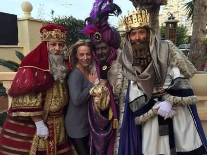 Los Reyes Magos visitan a Sonia Castedo