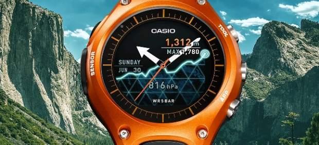 Casio también se atreve con el reloj inteligente: así es su primer modelo