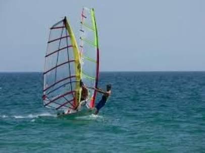 Windsurfistas