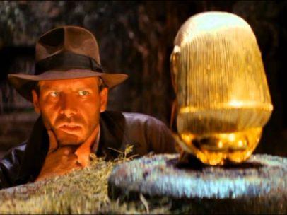 <a href=&quot;http://www.20minutos.es/cine/cartelera/pelicula/1894/indiana-jones-en-busca-del-arca-perdida/&quot; target=&quot;_blank&quot;>'En busca del arca perdida' (1981, Steven Spielberg)</a>