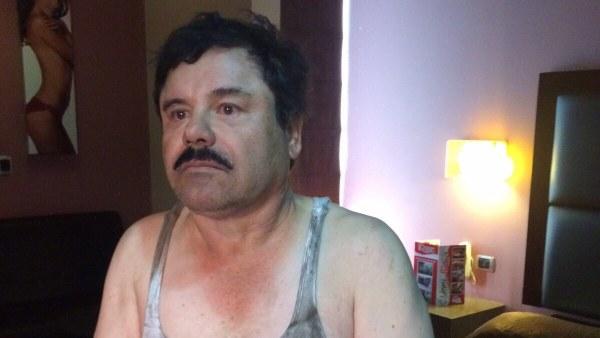 Captura de 'El Chapo'