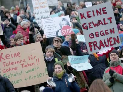 Manifestación en Colonia