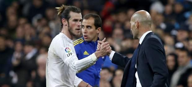 Bale y Zidane
