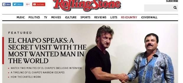 """Sean Penn """"debería estar en la cárcel"""" por su entrevista a 'El Chapo' Guzmán, según un exagente de la DEA"""