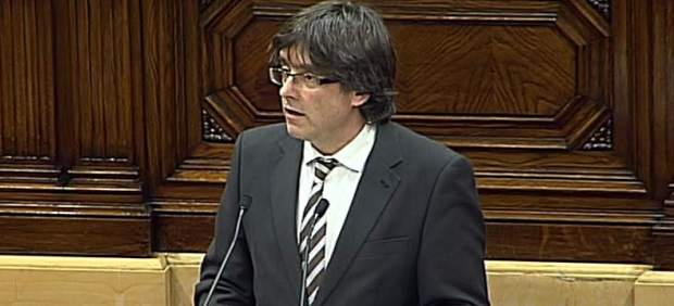 """Puigdemont sobre Rajoy: """"No me interesa lo que diga un proyecto que se acaba"""""""