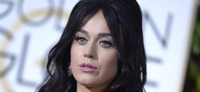 Katy Perry, sobre la alfombra roja de los Globos
