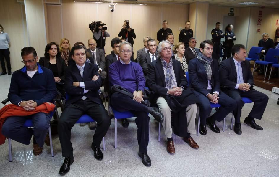 La Fiscalía, la abogacía estatal, Urdangarin, Torres y Matas recurrirán la sentencia del caso Nóos