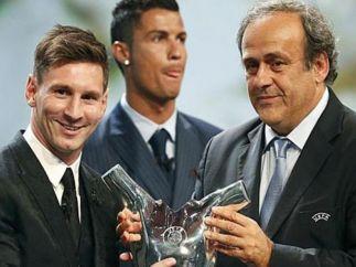 Mejor jugador de la UEFA por segunda vez