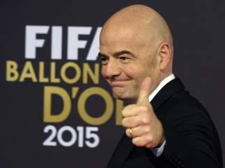 Gianni Infantino, secretario general de la FIFA