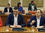 Reunión de Pedro Sánchez con los diputados y senadores electos