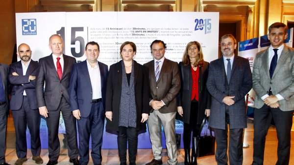 Barcelona celebra el 15 Aniversario de 20minutos
