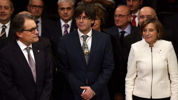 Mas, Puigdemont y Forcadell