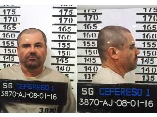 Ficha policial de 'El Chapo' Guzmán