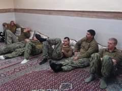 Detenidos en Irán