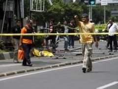 Atentados en el centro de Yakarta