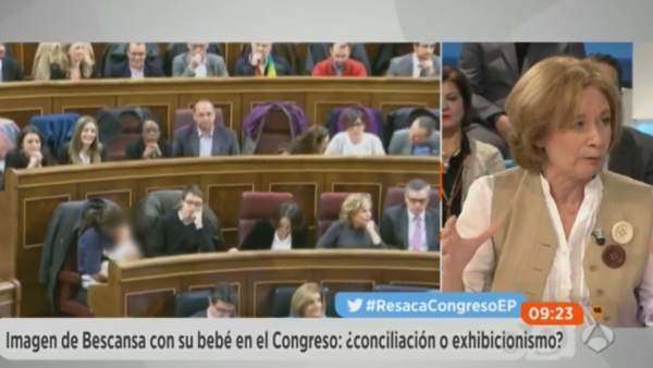 Pilar cernuda en Espejo Público